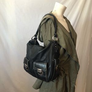 Marc Jacobs Italy black leather bag